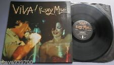 Roxy Music - Viva! Island 1976 LP Gatefold Cover
