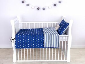 2-tlg-Set-Bezug-fuer-Kinderbetten-Bettwaesche-Kissen-Decke-JUNGE-Design-LOOLAY