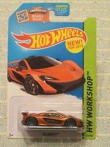 Hot Wheels 2015 Mc Laren P1 Orange HW Workshop