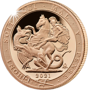 2021 Sovereign Gold Proof Coin