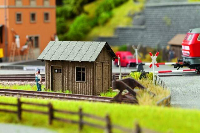 Noch Trackworkers Hut 14308 HO Scale (suit OO also)