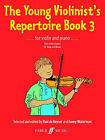 Young Violinist's Repertoire: (Violin and Piano): Bk. 3 by Faber Music Ltd (Paperback, 2007)