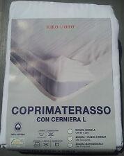 Fodera Materasso con Cerniera a L - Coprimaterasso Matrimoniale (175X200)