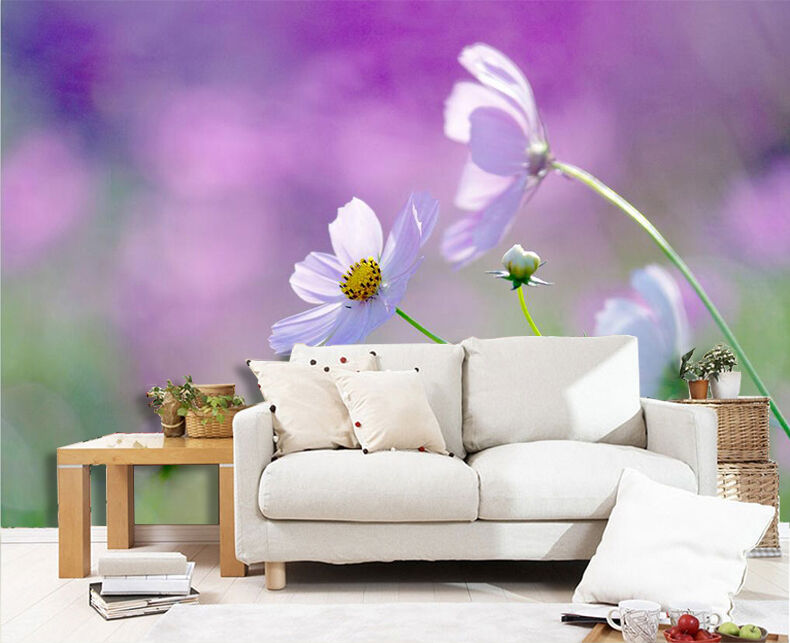 3D Fresh Wildflowers 2729 Paper Wall Print Wall Decal Wall Deco Indoor Murals