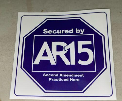 Details about  /AR-15 SECOND AMENDMENT STICKER 2 FOR A BUCK! PRINT ERROR