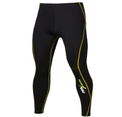 running Gym Mens Compression Base layer skin Tights Yoga Pants Pants
