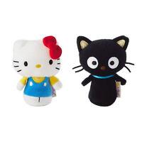 Hello Kitty And Chococat Hallmark Itty Bitty Bittys Set - Sanrio - Kittens - 2pc