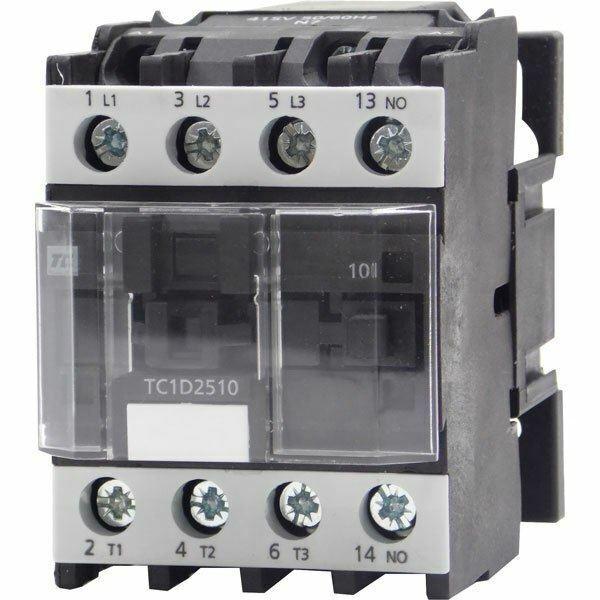 Europa Components TC1-D25004B7 Contactor 25A 11KW 4-pole 24V