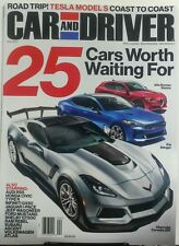 Car and Driver April 2017 25 Cars Worth Waiting For Tesla Honda FREE SHIPPING sb