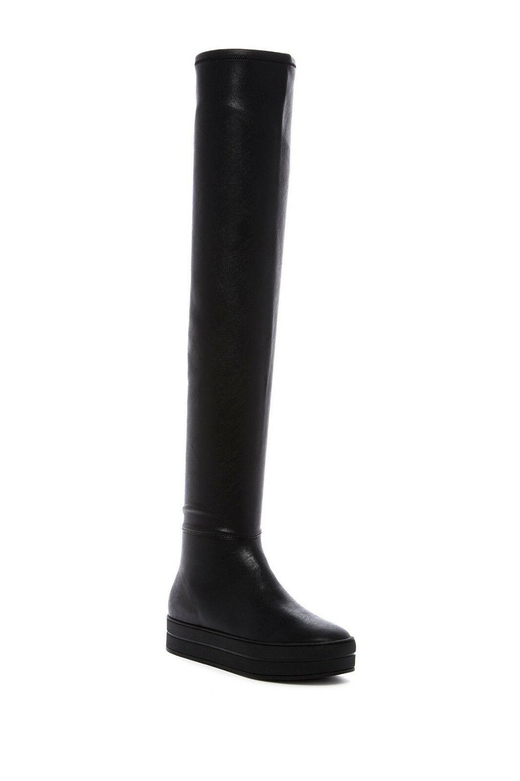 LFL Biggie Biggie Biggie Platform Over-the-Knee Boot Black Sz  129 NEW eb4c90