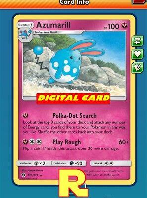 Wobbuffet Playset ptcgo in Game Card 4x - for Pokemon TCG Online