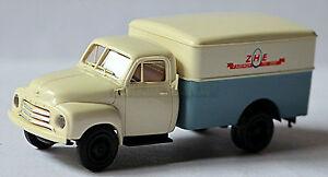 Opel-Blitz-1952-60-ZHE-Zuidhollandse-Comercio-de-huevo-Holanda-1-87-Brekina
