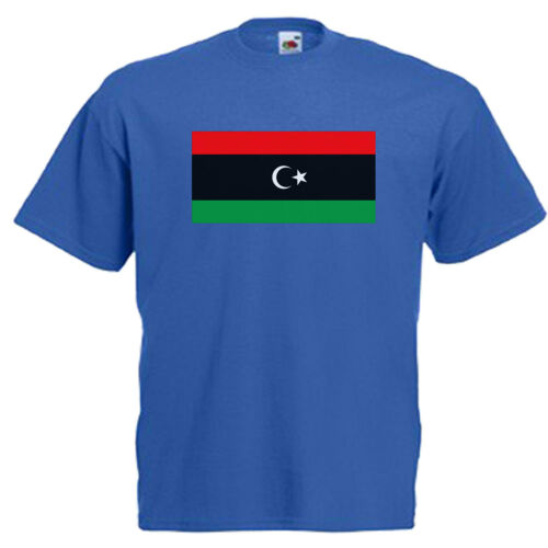 Libya Libyan Flag Children/'s Kids Childs Novelty T Shirt
