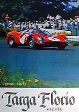 FERRARI 330 P3 Targa Florio Racing Poster