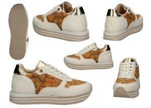 Scarpe-da-donna-Alviero-Martini-bianche-1a-Classe-10560-sneakers-casual-comode