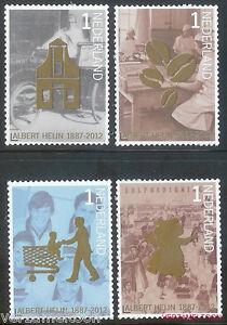 NVPH-2905-2908-125-JAAR-ALBERT-HEIN-2012-serie-postfris