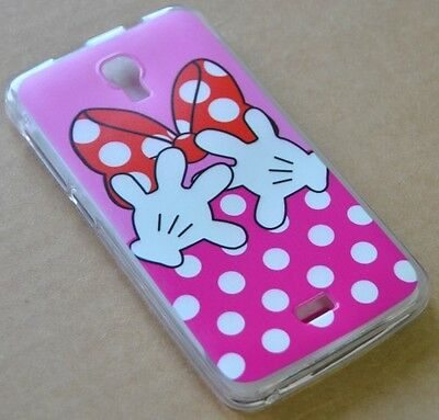 CUSTODIA COVER per WIKO BLOOM SILICONE BACK CASE MANI BIANCHE