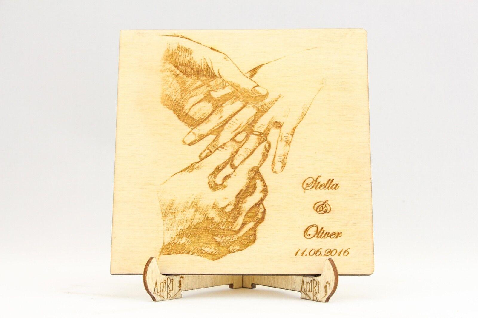 Personalizzato Libro Libro Libro degli ospiti, matrimonio, legno libro degli ospiti, legno, nuziali, anelli 6a6b50