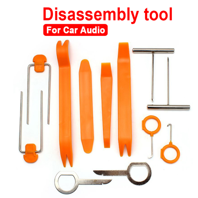 Universal Pry Removal Open Tools Kit Car Dash Door Trim Panel Clip Radio//Lights