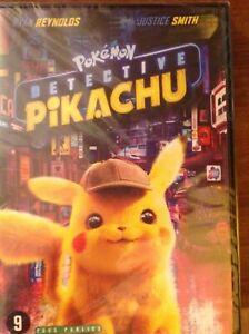 DVD-POKEMON-DETECTIVE-PIKACHU-Neuf-sous-blister