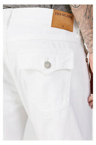 True-Religion-Men-039-s-Big-amp-Tall-Ricky-Relaxed-Straight-Jeans-in-Optic-White-46x34