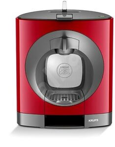 nescafe dolce gusto oblo manual coffee machine by krups red 10942217459 ebay. Black Bedroom Furniture Sets. Home Design Ideas