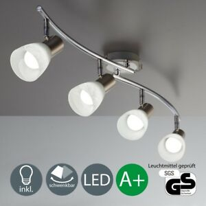LED Deckenleuchte Deckenlampe Wohnzimmer Spot-Strahler schwenkbar ...