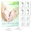 Ready to Baby Footprint Kit Twin Pack Eight Sheets and Two inkless Wipes