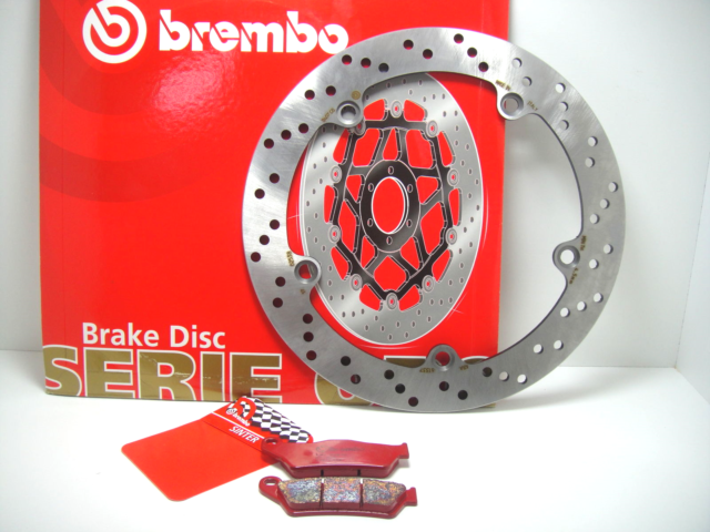 7C8 Disc Rear Brake Brembo+Pads Sintered BMW R 850 Rt ABS 1999