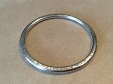 Silpada Sterling Silver Hammered Thin Bangle Bracelet Retired