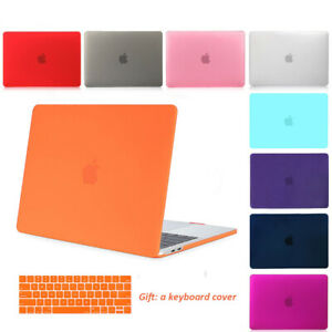 "Hard Case Shell Skin Keyboard Cover for Macbook Pro Air 11 12 13 15/""Touch Bar Mu"