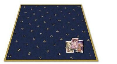 Astrology Velvet Tarot Cloth by Lo Scarabeo Fabric Book (English)