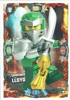 LE 8 SHINTARO KAI Serie 6 Die Insel Lego Ninjago TRADING CARD