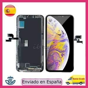 Pantalla LCD Para Apple iPhone X OLED Táctil Digitalizador Completa +MARCO Negro