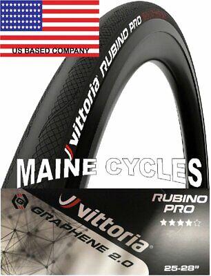 Vittoria Zaffiro Pro G 2.0 Graphene clincher 700 x 25 all black  USA based