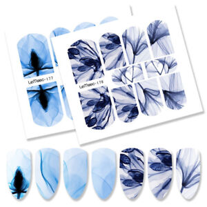 10Pcs-LEMOOC-Nagel-Wasser-Sticker-Wassertransfer-Nail-Art-Stickers-Full-Wraps