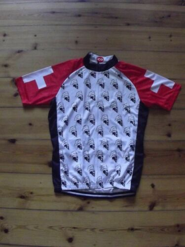 ICO Spartacus Cycling jersey Retro Road Pro Clothing MTB Short Sleeve Bike