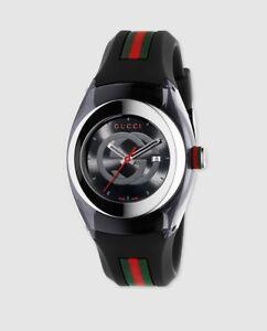 Reloj-de-mujer-Gucci-Sync-YA137301-de-caucho-multicolor