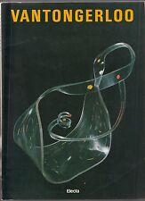 Vantongerloo. Milano, Padiglione d'Arte Contemporanea, 1986 Electra ed. -L4966