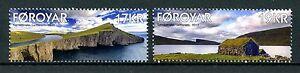 Faroes Faroe Islands 2017 MNH Sorvagsvatn / Leitisvatn 2v Set Landscapes Stamps