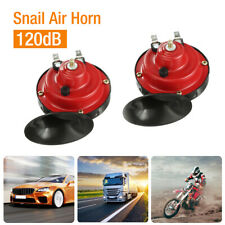 2x 12v 300db Super Loud Train Horn Waterproof For Motorcycle Car Truck Suv Boat