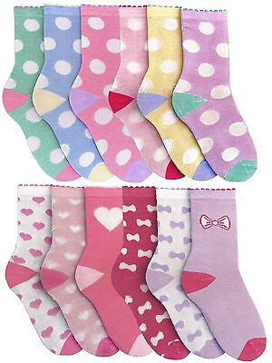 RJM 3 Pack Girls Knee High Socks with Bow