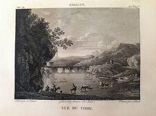 VEDUTA DEL TEVERE  Asselyn - Galerie de musée Napoléon J. Lavallée 1804-1815