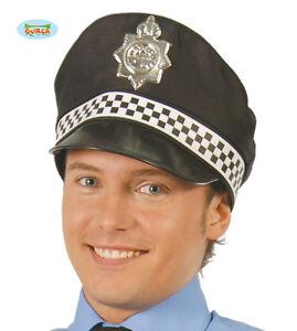 Caricamento dell immagine in corso CAPPELLO-POLIZIOTTO-INGLESE-Carnevale -Copricapo-Polizia-Accessori-Cops- 746a120a2a34