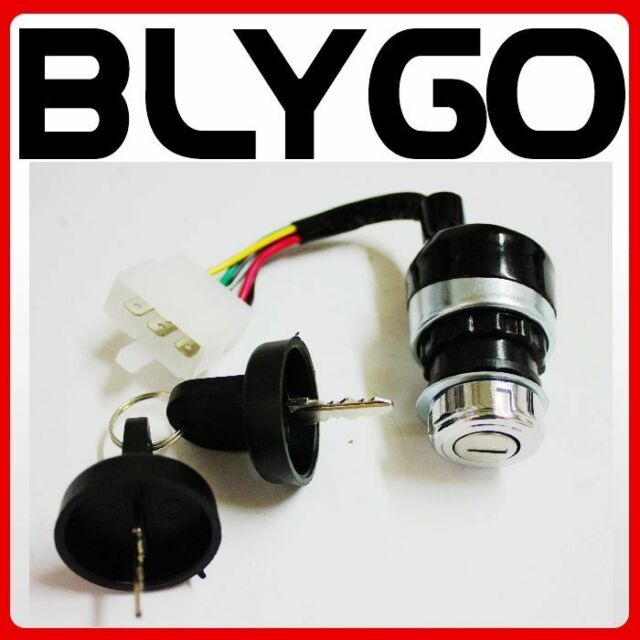 Atv Parts & Accessories Ignition Switch Key 5 Wire 110cc 125cc 150cc Pit Quad Dirt Bike Atv Buggy Atv,rv,boat & Other Vehicle