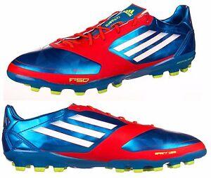 half off 949a3 c1e26 Image is loading Mens-Adidas-Football-Boots-F50-Adizero-TRX-AG-