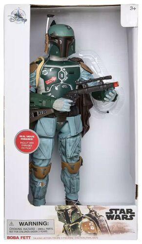 Disney Star Wars Boba Fett talking figurine 2019