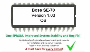 Boss-SE-70-Version-1-03-OS-Firmware-update-EPROM-Effect-Rack-for-SE70-Effect