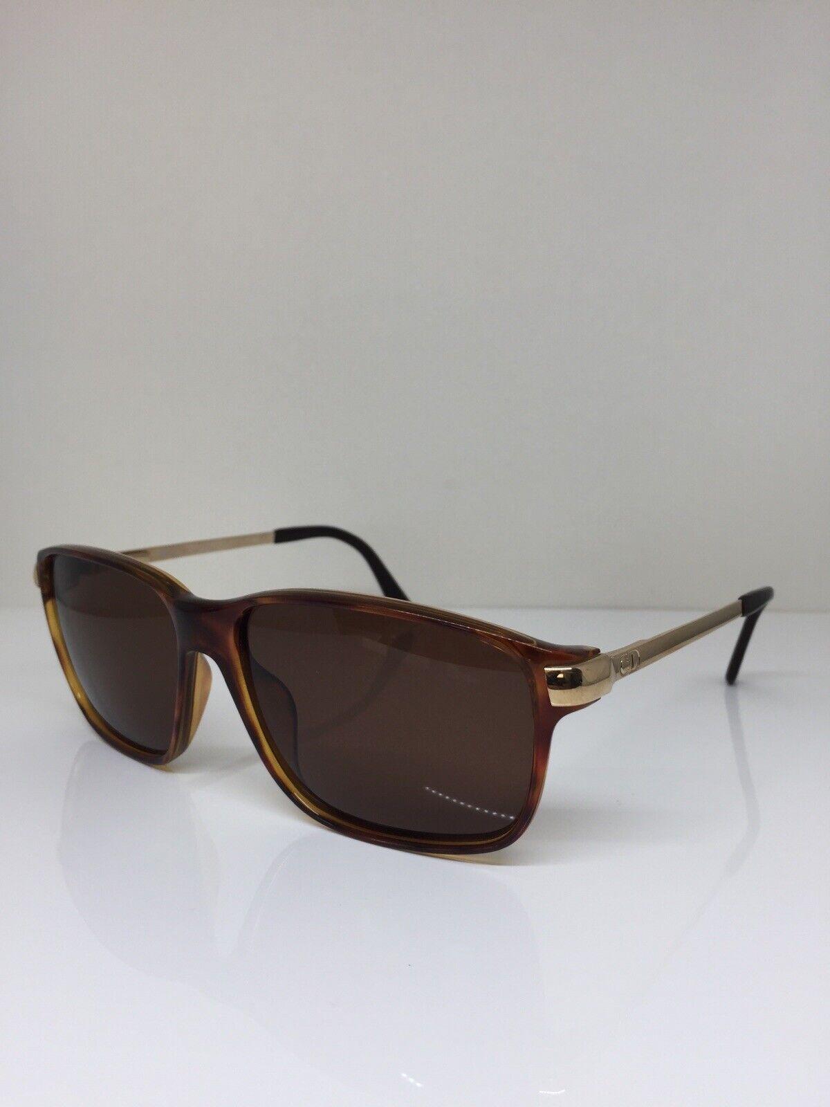 New Vintage Christian Dior 2902 Sunglasses C. 10 Brown w/ Gold 58-14mm Austria