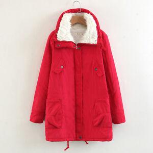 Veste veste manteau chaud manteau court rouge parka confortable 1298 ... 0b19e646c592